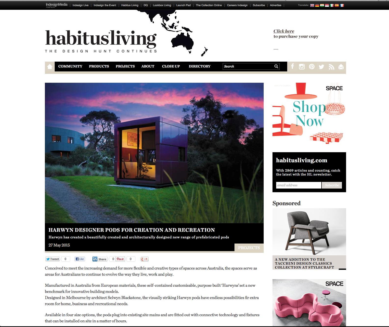 Habitus Online article image